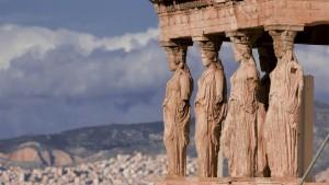 Erechtheum at the Acropolis