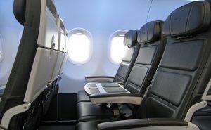 BA A320 seat Side-view