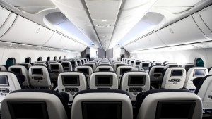 World Traveller seating on BA's B787 aircraft
