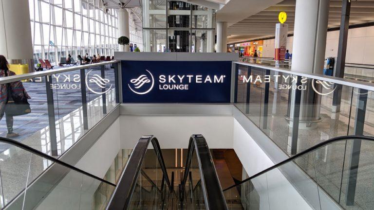 Skyteam Lounge Entrance