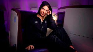 Virgin Atlantic onesie