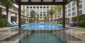 JW Marriott Sahar Mumbai swimming pool