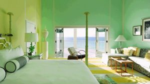Bedroom at the Malliouhana hotel, Anguilla