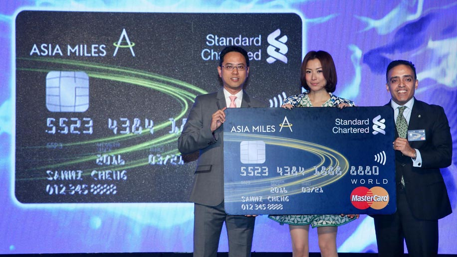 New Co Branded Credit Card By Asia Miles And Standard