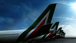 Alitalia tailfin