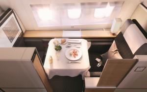 Swisss B777-300ER First class seat