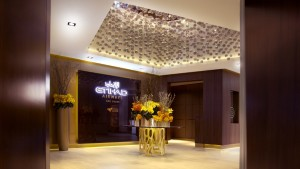 Etihad Lounge Entrance
