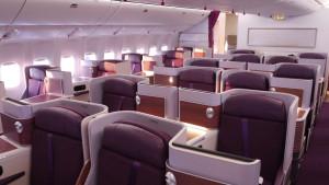 Thai Airways B777 business class