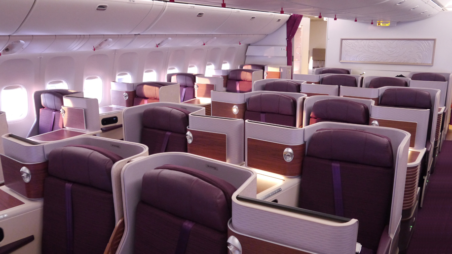 Thai Airways B777 business class