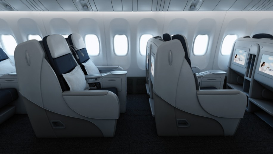 The Big Picture Air France A380 Business Traveller
