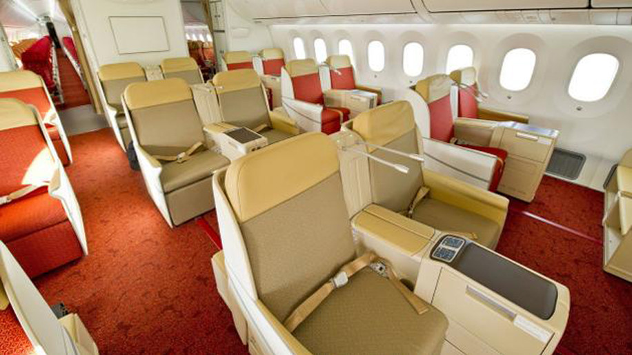 Air India Boeing 787 8 Dreamliner Business Class