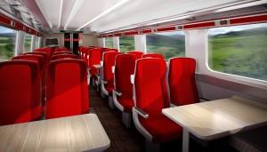 Virgin Trains interior