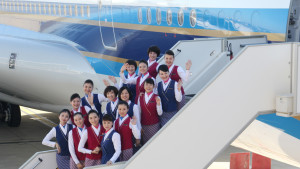 China Southern Airbus 380 cabin crew