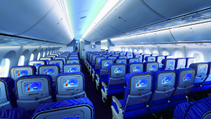 China Southern Boeing 787-8 Economy Class
