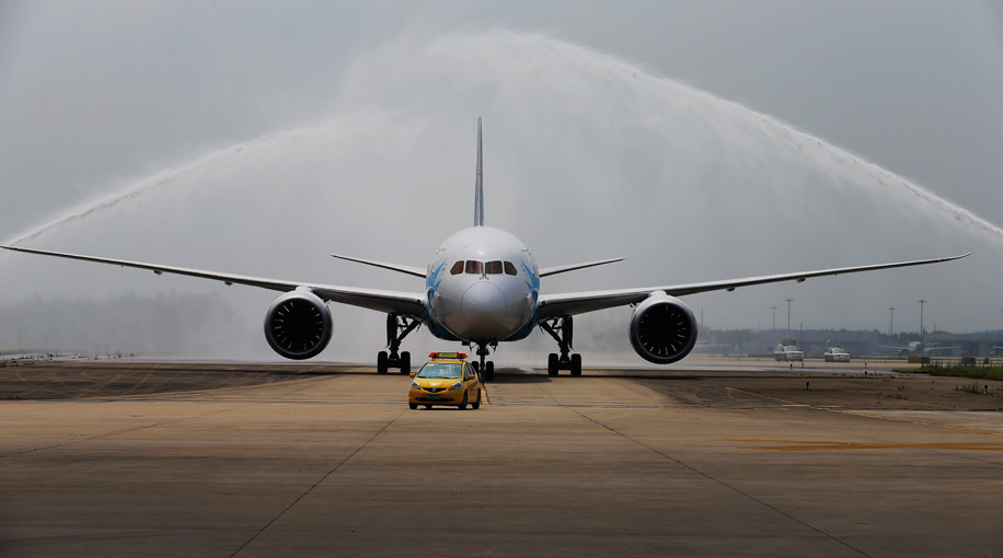 China Southern Boeing 787-8