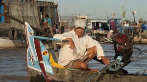 Chau Doc river market