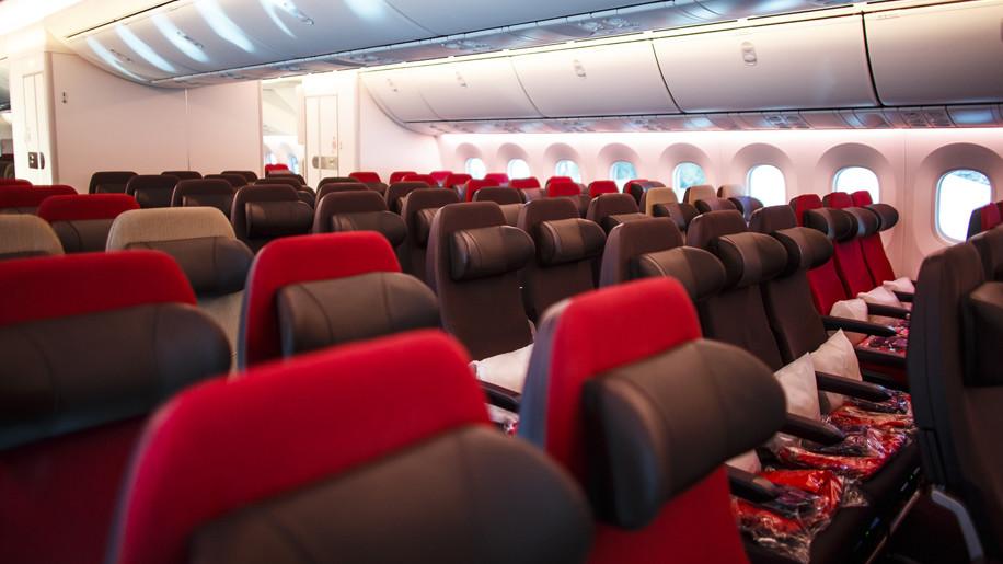 Virgin Atlantic B747-400 economy class – Business Traveller