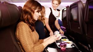 Virgin Atlantic Boeing 787-9 Dreamliner Economy in-flight meal