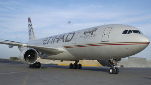 Etihad Airways A330 old livery