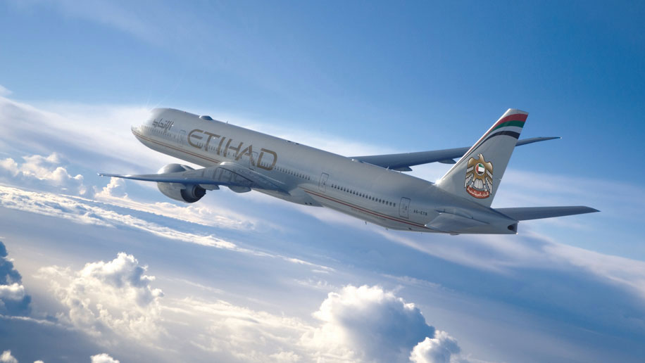 Etihad Airways B777-300ER old livery