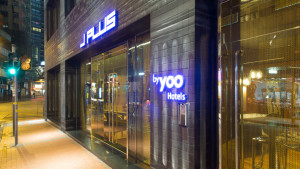 J Plus by Yoo hotel exterior, Causeway Bay, Hong Kong