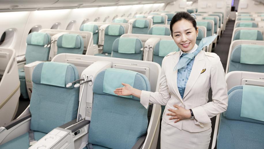 Korean Air A380 Prestige cabin