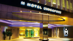 M Hotel Singapore entrance