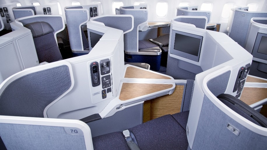 Flight Review American Airlines B777 300er Business Class