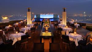 Tower Club at Lebua Sirocco restaurant and Sky Bar, Bangkok, Thailand
