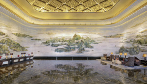Wanda Reign Wuhan lobby
