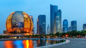 Hangzhou skyscrapers