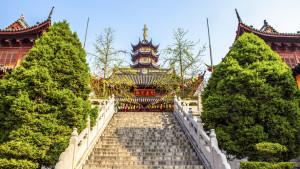 Jiming Temple, Nanjing, Jiangsu province, China