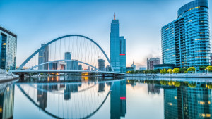cityscape of tianjin