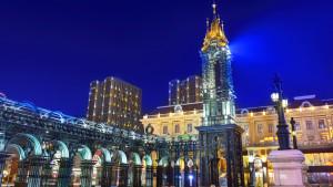 Saint Sofia Square, Harbin City, Heilongjiang Province, China