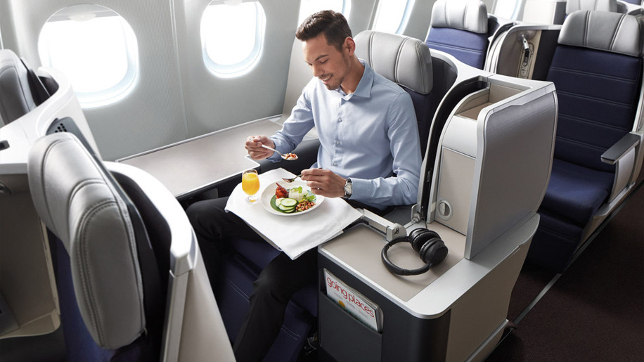 Malaysia Airlines new business class on the A330