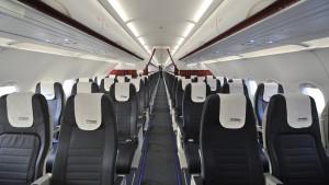 Aegean Airlines Airbus 320 economy class