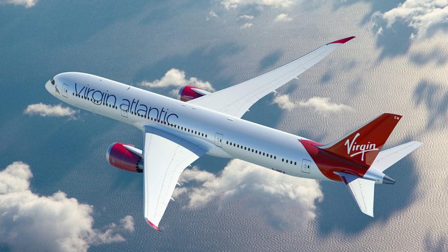Afbeeldingsresultaat voor boeing 787 9 virgin atlantic