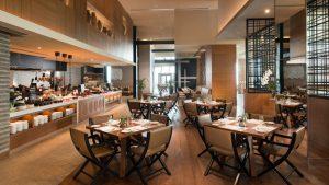 Conrad Manila's Brasserie on 3 restaurant