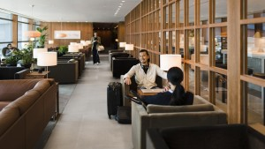 Cathay Pacific The Pier business class