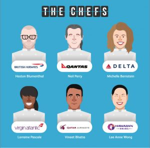 The science of inflight food - the chefs