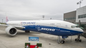 China Airlines Boeing 777-300ER Delivery Ceremony