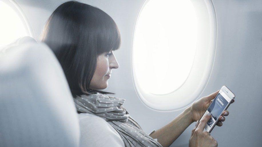 Finnair A350 economy class