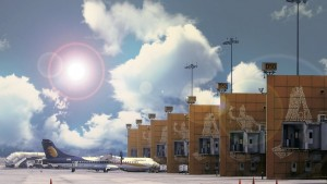 Jet Airways aircraft at DIAL