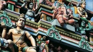 Kapaleeshwar Temple roof, Chennai