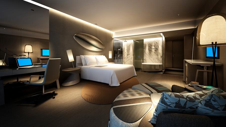 Le Meridien Qingdao West Coast Resort Deluxe King Room