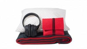 American Airlines Premium Economy amenity bag