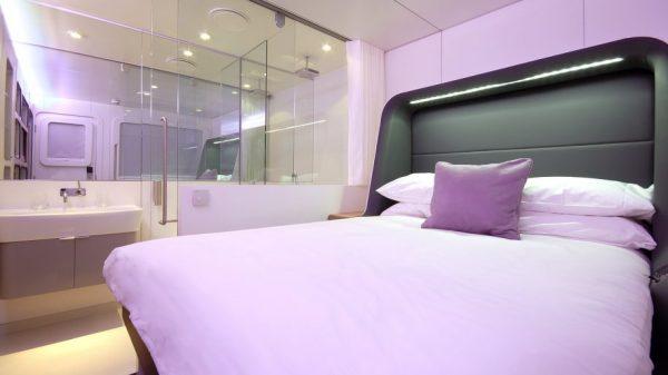Premium cabin Yotel Air Gatwick