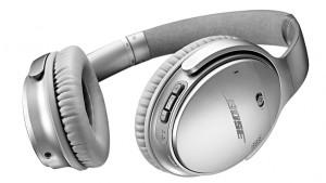 Bose Quiet Comfort 35 wireless headphones Silver