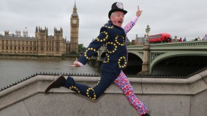 Ryanair's Michael O'Leary campaigns for Remain in the EU referendum photocall Westminster
