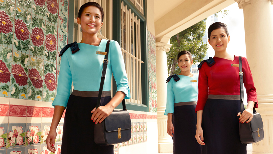 Silk Air flight attendants